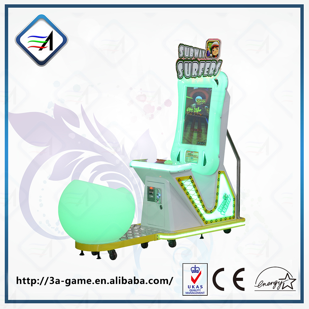 Subway Surfers Indoor Amusement Electronic Game Arcade Machine