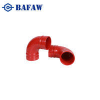 Strict quality management forged high pressure ductile iron double flange grooved coupling pipe fitting