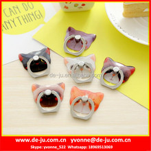 Acrylic Cat Family Finger Grip Phone Holder
