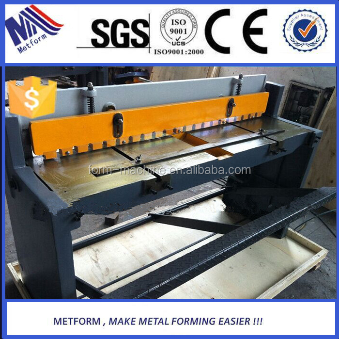 2016 advanced high precision sheet metal manufacturers supply manual Shearing <strong>Machine</strong>
