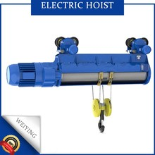 Wireless remote wire rope compact light duty electric lifting hoist with good quality