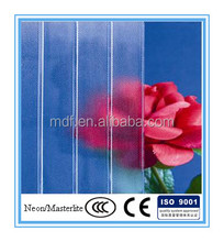3-8mm Clear or Colored Neon Glass with CE and ISO9001