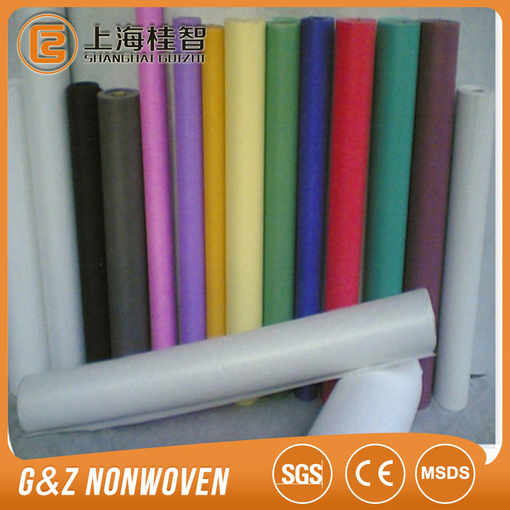 Apricot long-pile flocking pp spunbond cellulose nonwoven fabric