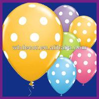 cheap latex balloons with polka dot