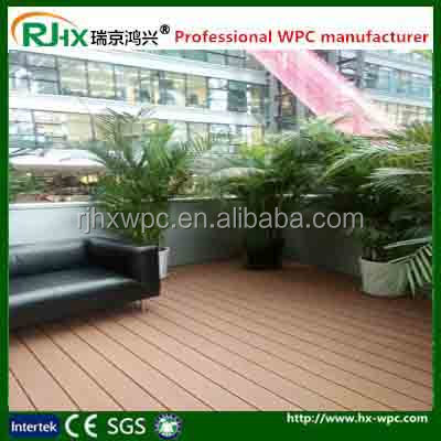composite flooring for wood house decking in garden