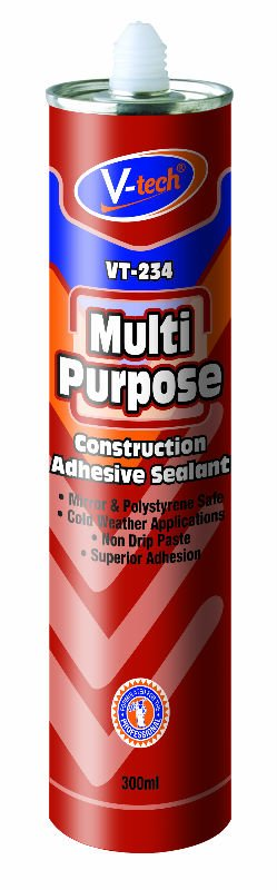 VT-234 Multi Purpose - Construction Adhesive Sealant