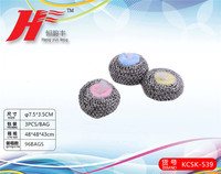 stainless steel ball with sponge KCSK-539