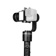 ViewFlex G Pro Handheld 3 Axis Gimbal Video Stabilizer for GoPro 3, 3+, 4, 5 built-in LED Light and 360 Degree Video Shooting