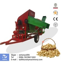 Tianyu peanut picker machine for wet and dry peanut easy