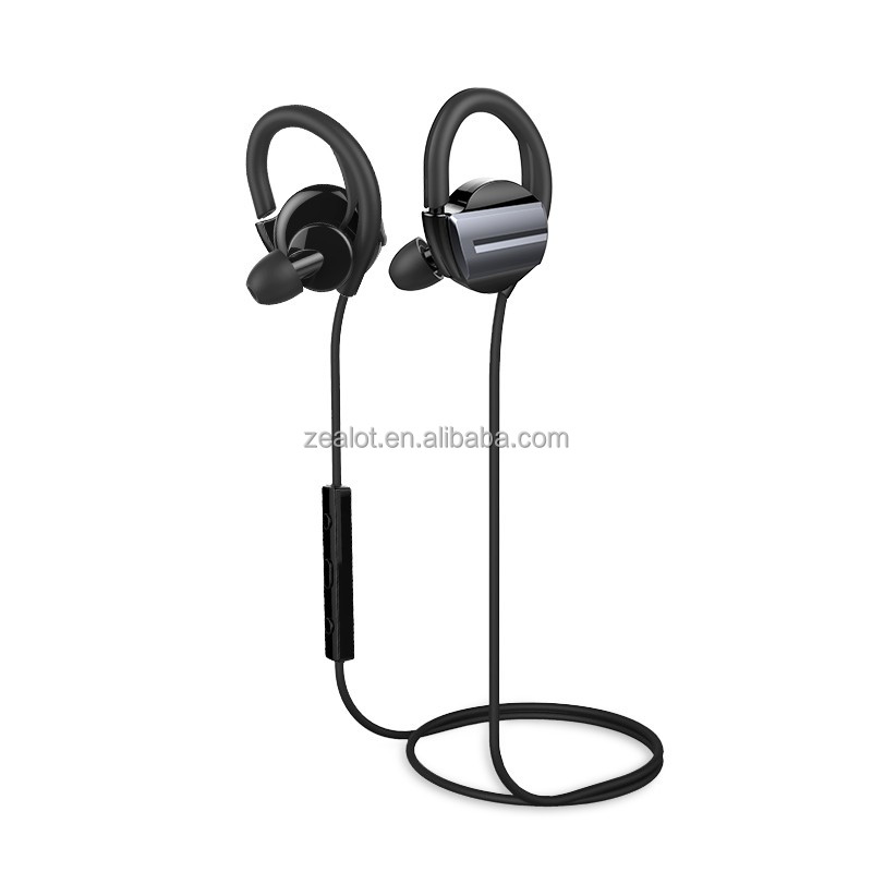 Hot Black and White Earphone Bluetooth Special Ear Plugs for Cell Phone Mp3 Mp4