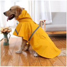 New Arrival Large Dog Jacket Rain Qualified Pet Rain Coat For Labrador