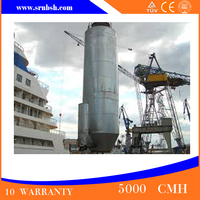 Newest FRP Purification Tower Tail Gas Absorption Tower Environment Protection Tower Treament System