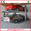 smart automatic garage parking system/auto stacker/ smart two post hydraulic double tier parking