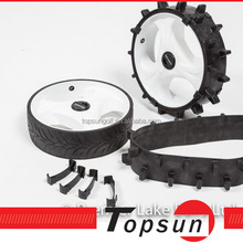 snow wheel tyre for golf trolley