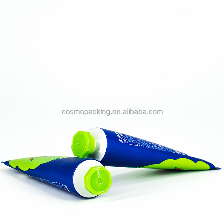 25mm Diameter hexagon tube plastic packaging, 25mm tube with hexagon cap