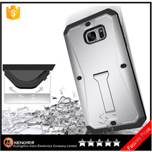 Shockproof case For samsung S7 Edge PC+TPU Kickstand Mobile back cover case bulk buy from china