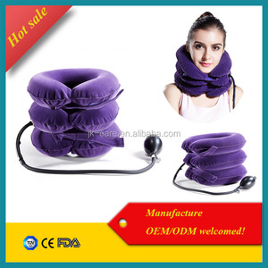 Neck Pillow cervical traction , pneumatic cervical collar for neck pain relief