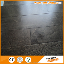 Charcoal color 18mm Solid MapleFlooring