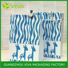 Low price reusable printed small clear pvc gift bags