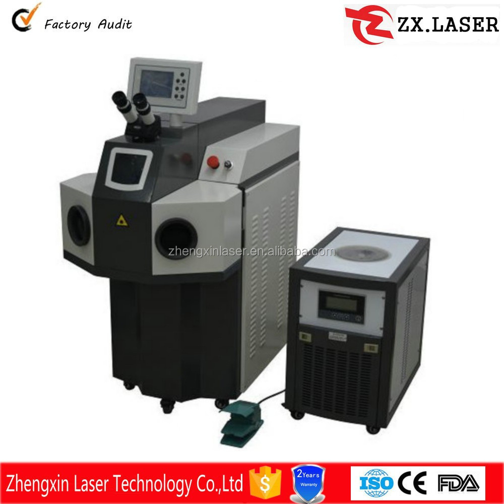 high quality laser spot soldering machine for repair dental ZX-200 Laser channel letter laser welding machine