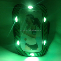 2016 cellphone LED armband case for running sport