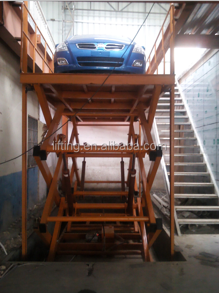 scissor car lift hydraulic car lift