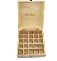 Wholesale high quality cheap wooden essential oil storage box