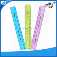 New Fashion Custom Facotry Logo Soft PVC Flexible Ruler/ Rubber Scale Ruler ruler notebook