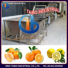round fruit and vegetable sorting machine,round fruit washing,drying,waxing line