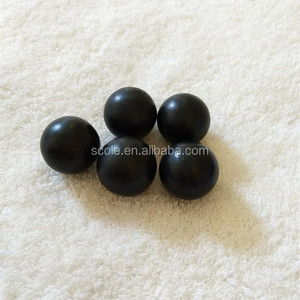 Chinese factory supply black pp hollow plastic ball pit balls
