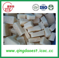 Hot sale Best quality shandong jinxiang frozen vegetable garlic puree frozen IQF garlic paste