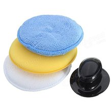 Best Selling 3 Packs Wax Applicator Pads With Holder