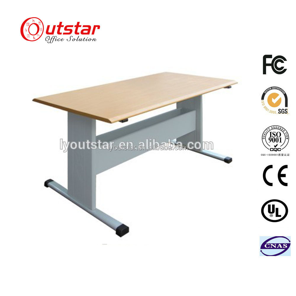 Cost-effective library furniture pure wood desks with formica top office furniture table