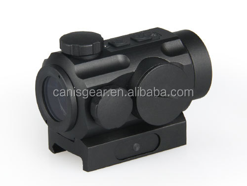 Tactical red dot reflex sight scope with quick release from Canis Latrans