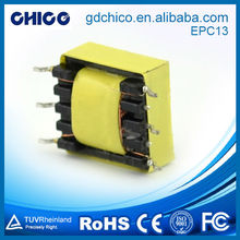 EPC13-01 applied to communication power transformer 220v 24v