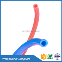 Custom flexible plastic colored braided double walled fuel hose