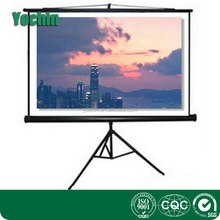 High Definetion Floor Pull up Projector Screen Portable Tripod Projection Screen