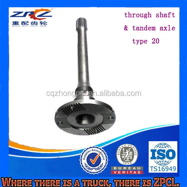 Various Durable Truck Through Shaft & Tandem Axle ( For Mercedes, Benz, Steyr, Volvo, DAF, Howo, Aowei, Man etc. )
