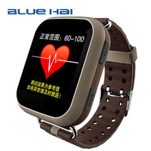 1.54 Inch GPS Wifi GSM GPRS Smart Watch Remote Monitoring SIM Card Slot MTK 2503 Smart Watch Phone with SOS