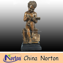 Reading books bronze boy sculpture NTBH-C024