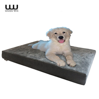 Waterproof Square High Quality Eco-Friendly Wholesale Orthopedic Dog Bed Memory Foam