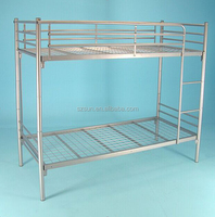 Simple style high strength good double decker metal bed frame