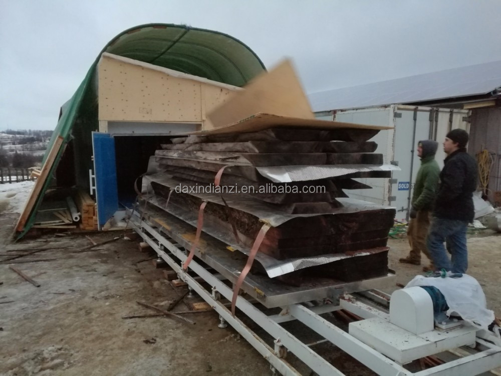 High speed drying vacuum american oak wood slab dry kiln