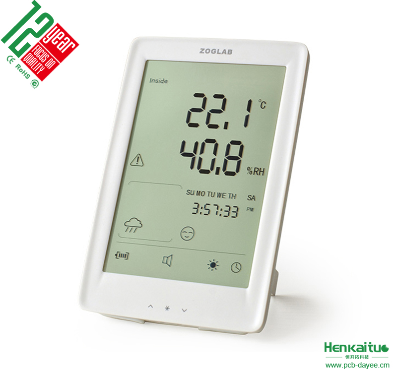 15km Around Area Digital Pressure Weather Barometer Thermometer Hygrometer