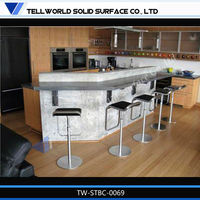2014 TW Fancy Waterproof Corner Bar Furniture For The Home