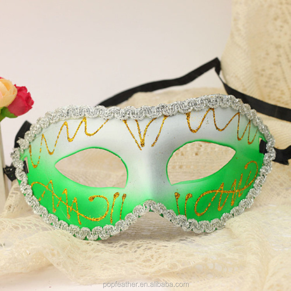 Buy Gold Plastic Party Mask with Cheap Wholesale Price from ...