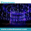 360 degree led tube light 3d magic vertical tube /dmx vertical magic tube