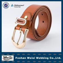 2014 lastest design leather embroidery belt in Guangdong