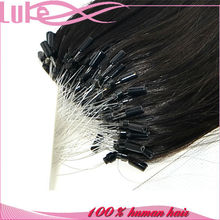 Silky Straight No Tangle No Shedding Micro Ring Hair Extensions for Black Women