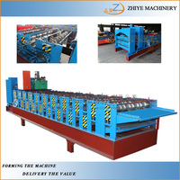 cnc double layer roof shingles making machine manufacturer/roofing shingles sheet metal making machine